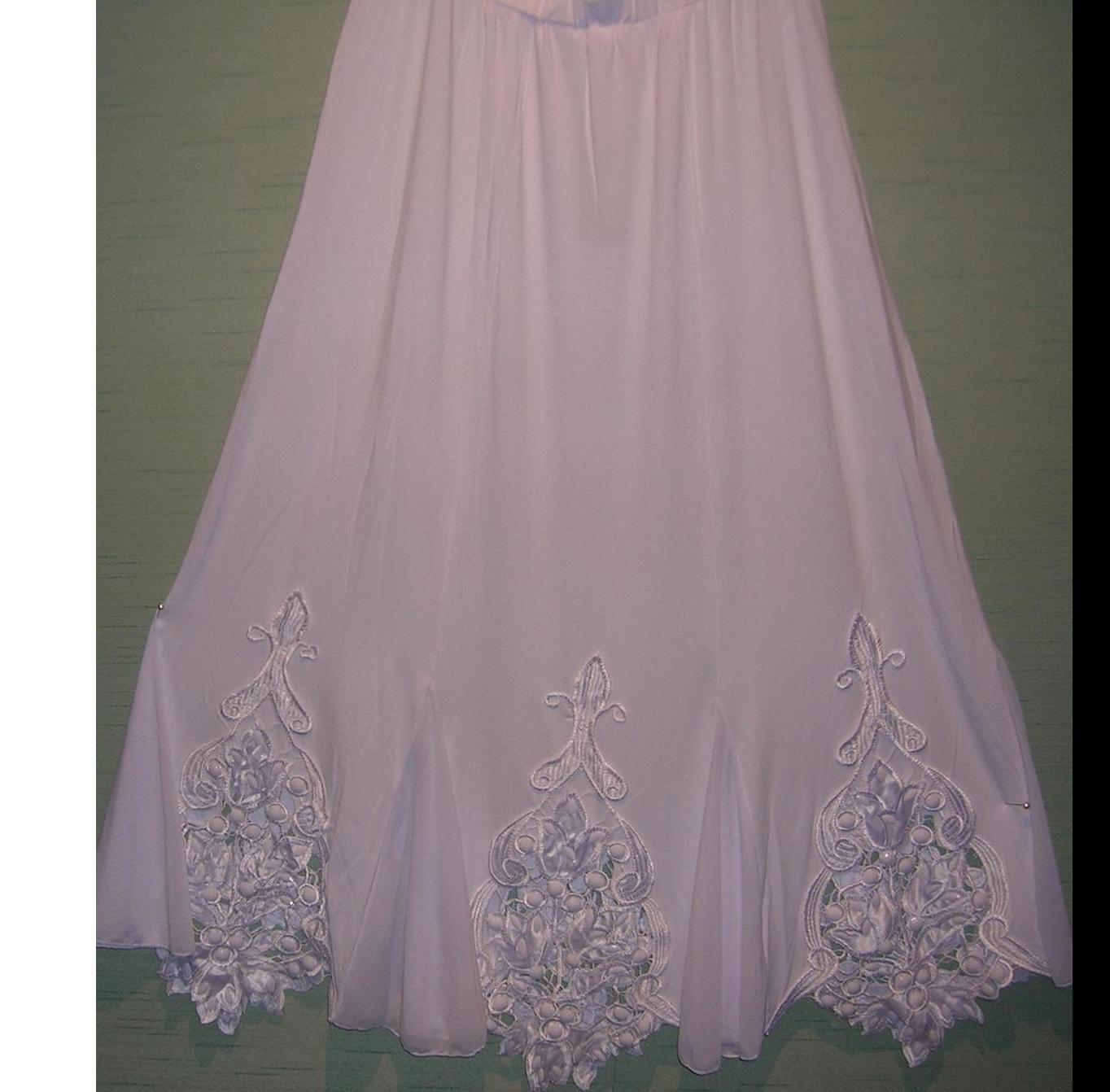 White Beaded Skirt