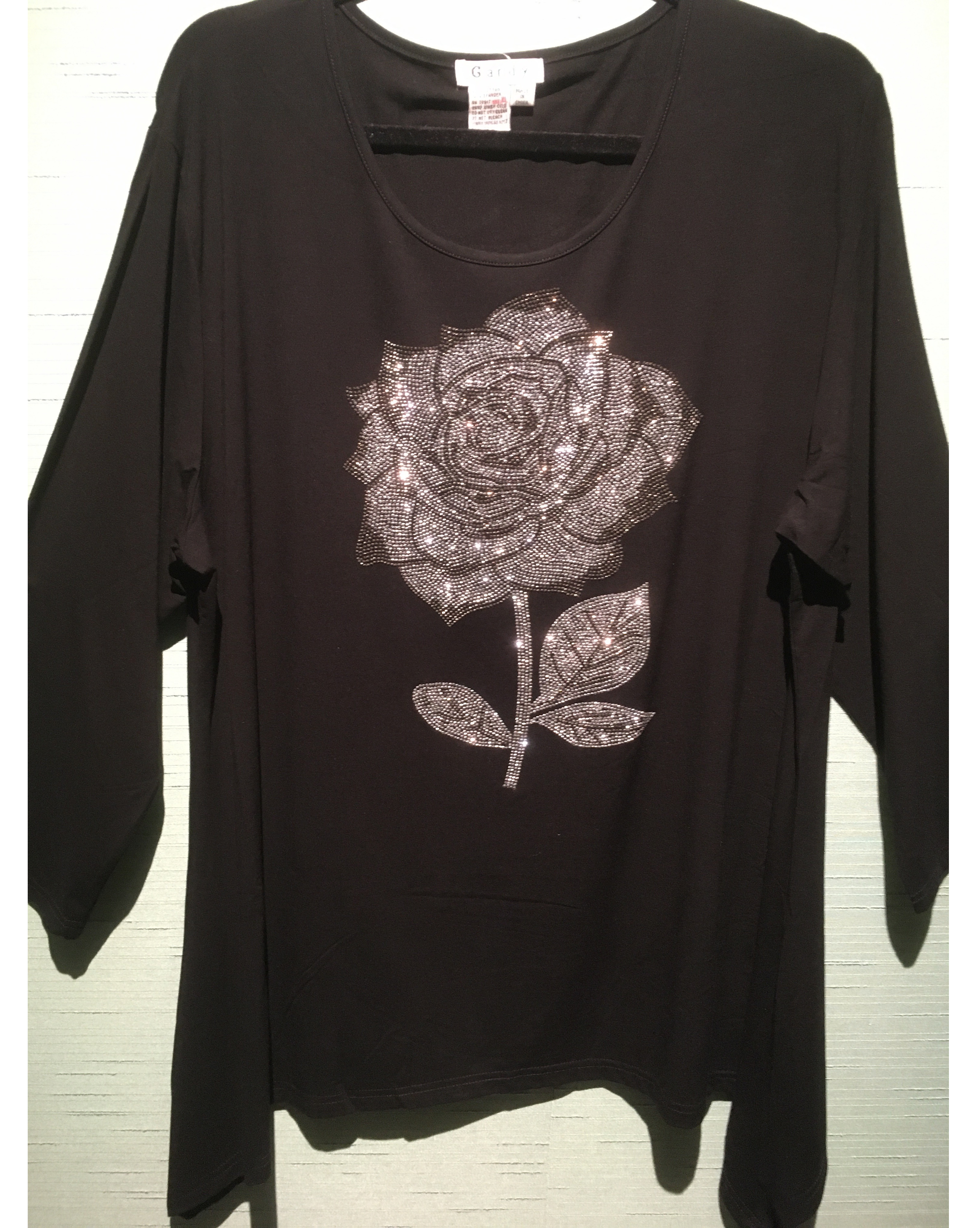 Rose in Crystals Tunic