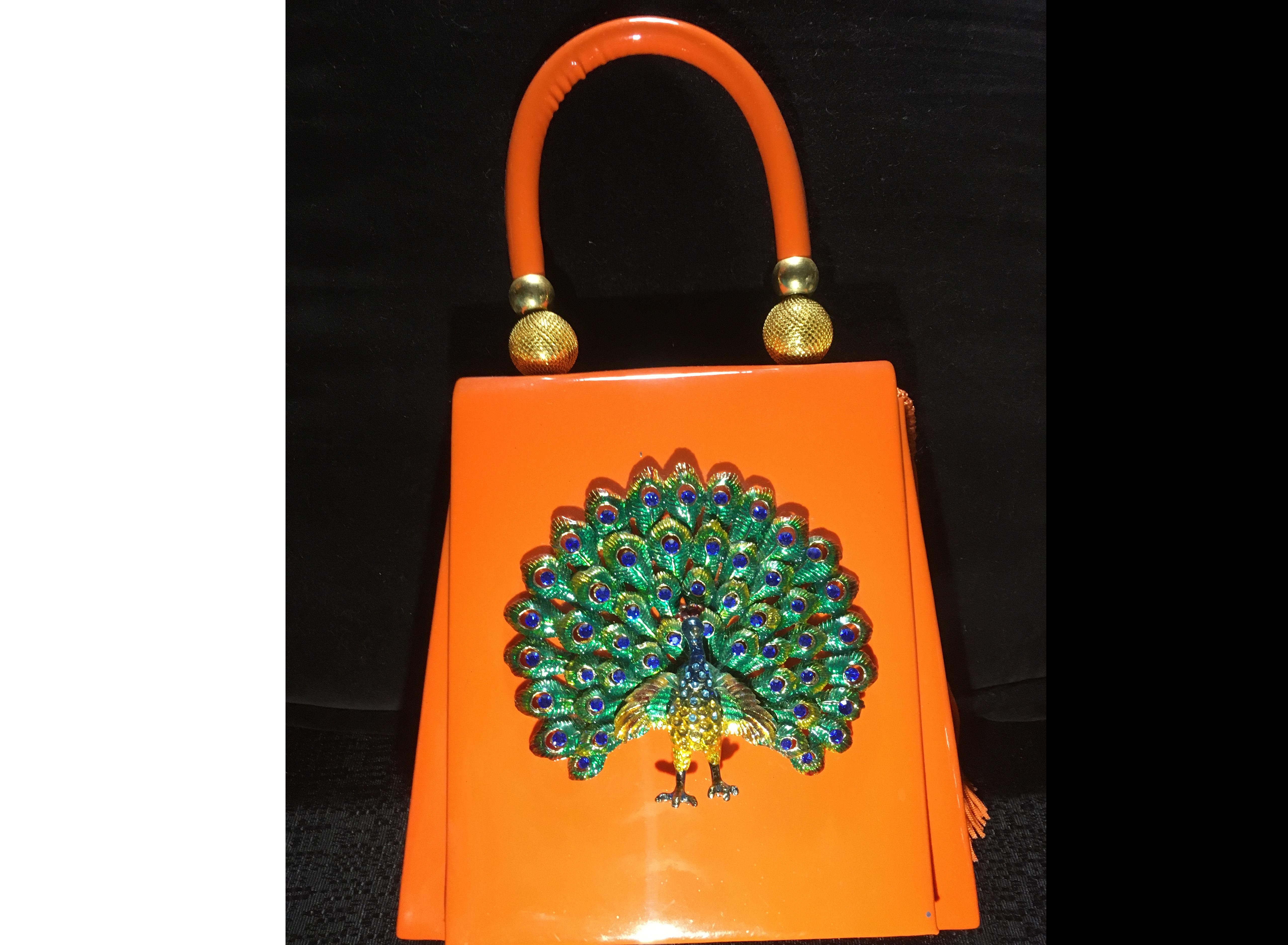 Peacock Handbag