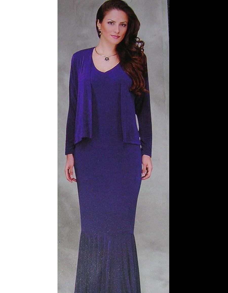 Black Sleeveless Mermaid Dress