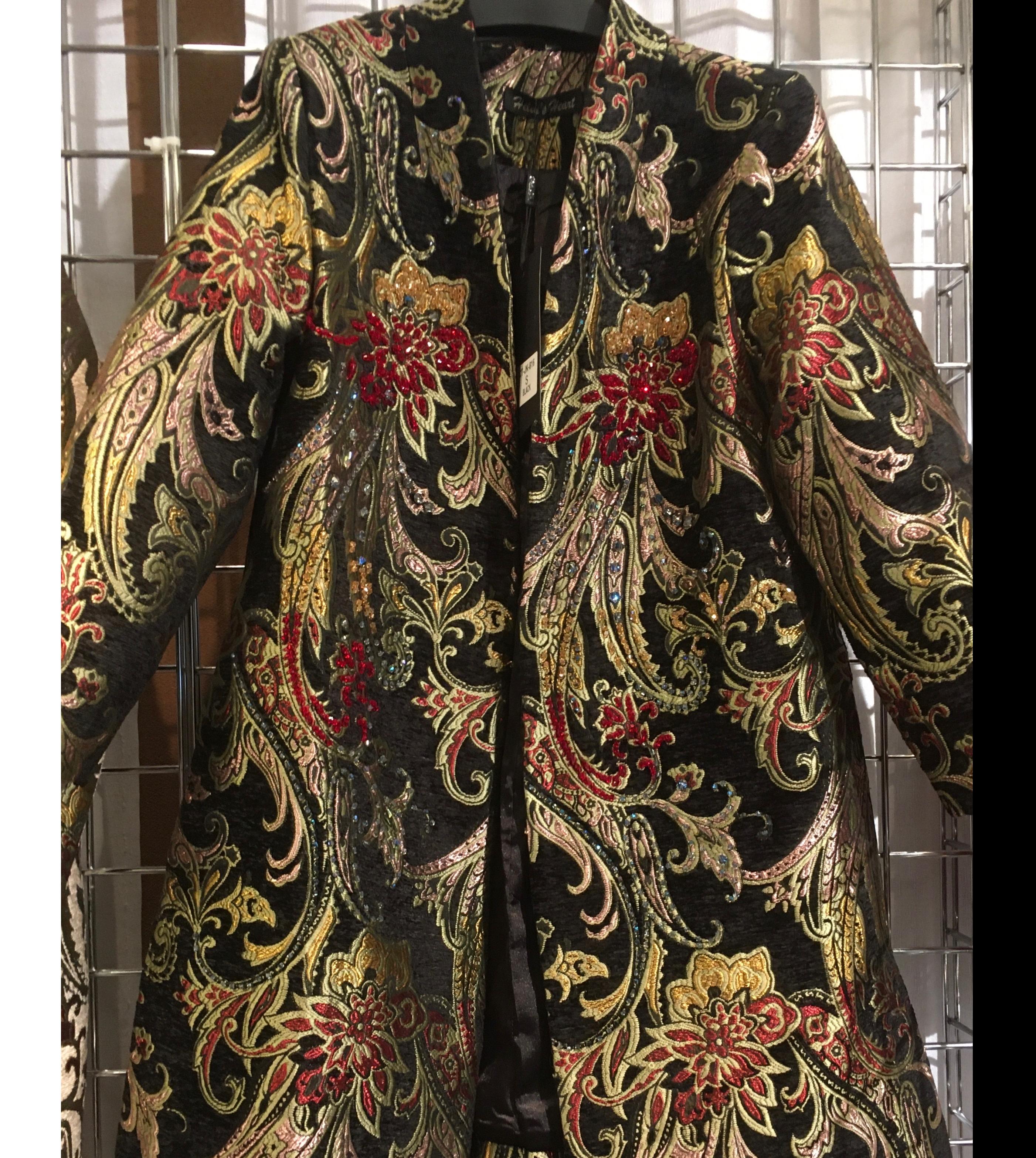 Beaded Brocade Jacket