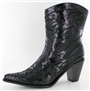 Black Sequin Bling Boot